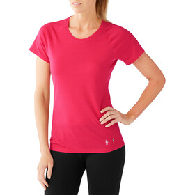 Smartwool Merino 150 Baselayer Pattern Short Sleeve Women Potion Pink